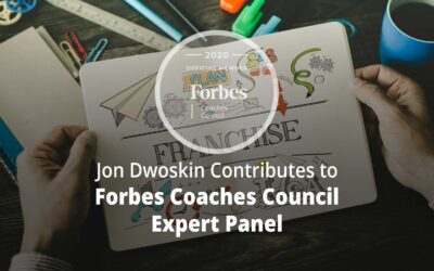 Jon Contributes to Forbes Coaches Council Expert Panel: Want To Become A Franchise? 15 Important Things To Consider First