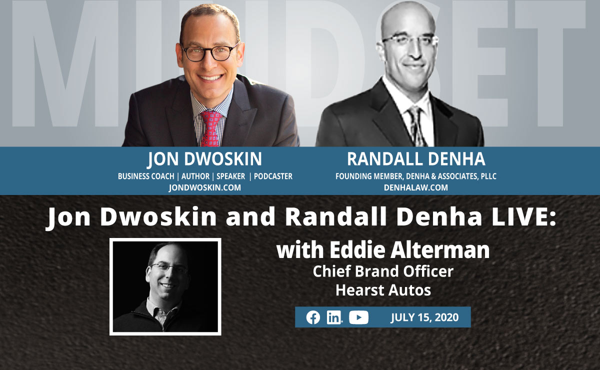 Jon Dwoskin and Randall Denha LIVE: With Eddie Alterman, Chief Brand Officer, Hearst Autos