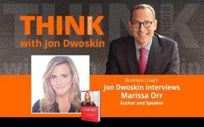 Jon Dwoskin Interviews Marissa Orr, Author and Speaker