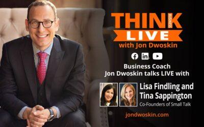 Jon Dwoskin Talks LIVE with Lisa Findling and Tina Sappington