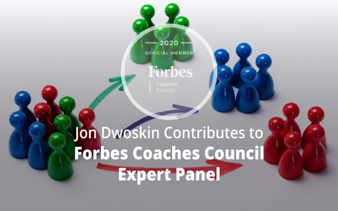 Jon Contributes to Forbes Coaches Council Expert Panel: 14 Effective Ways To Segment Customers
