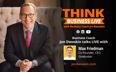 THINK Business LIVE: Jon Dwoskin Talks with Max Friedman