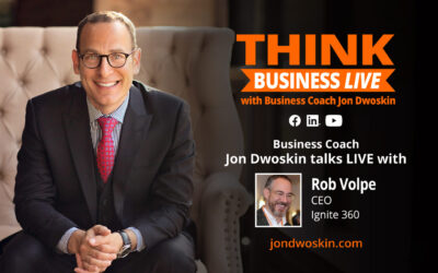 THINK Business LIVE: Jon Dwoskin Talks with Rob Volpe