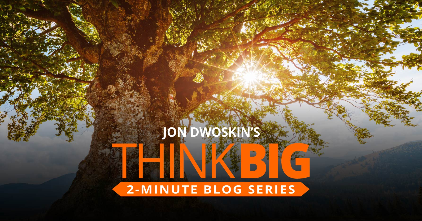 THINK Big 2-Minute Blog: Take a 'Nature Pill' for Instant Stress Relief