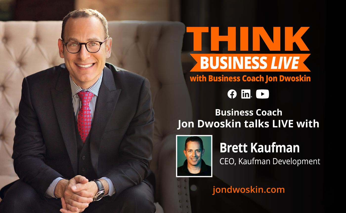 THINK Business LIVE: Jon Dwoskin Talks with Brett Kaufman