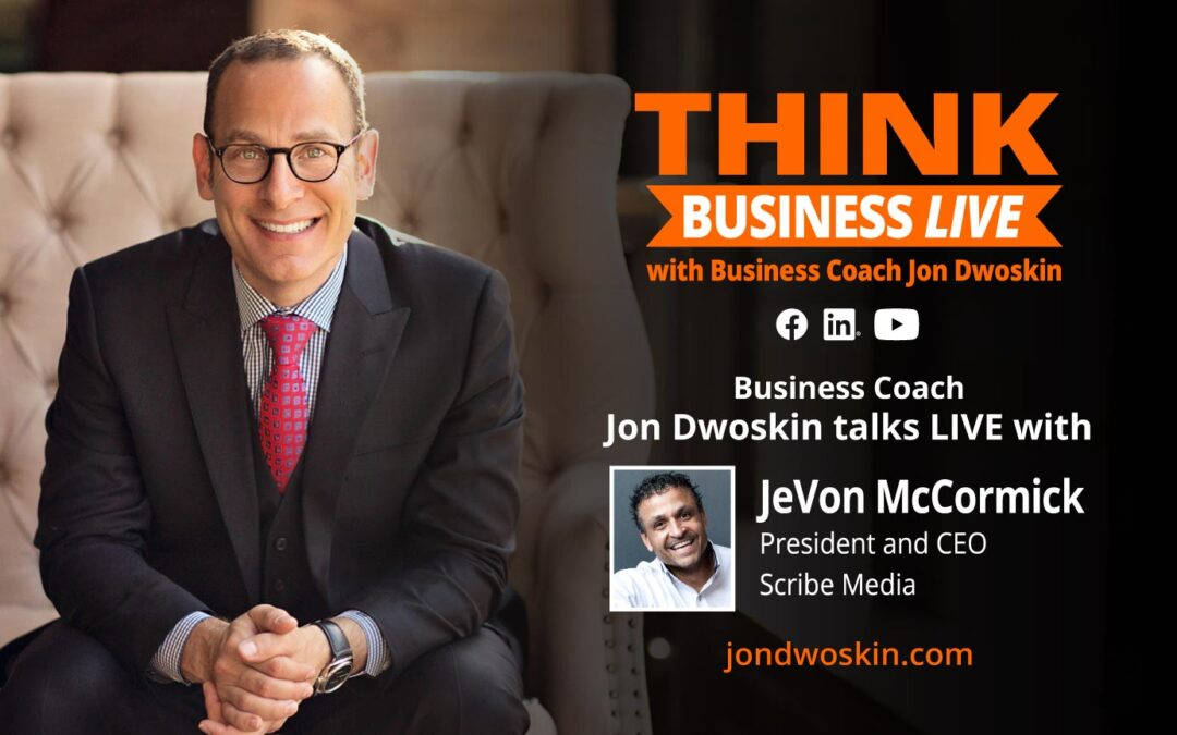 THINK Business LIVE: Jon Dwoskin Talks with JeVon McCormick