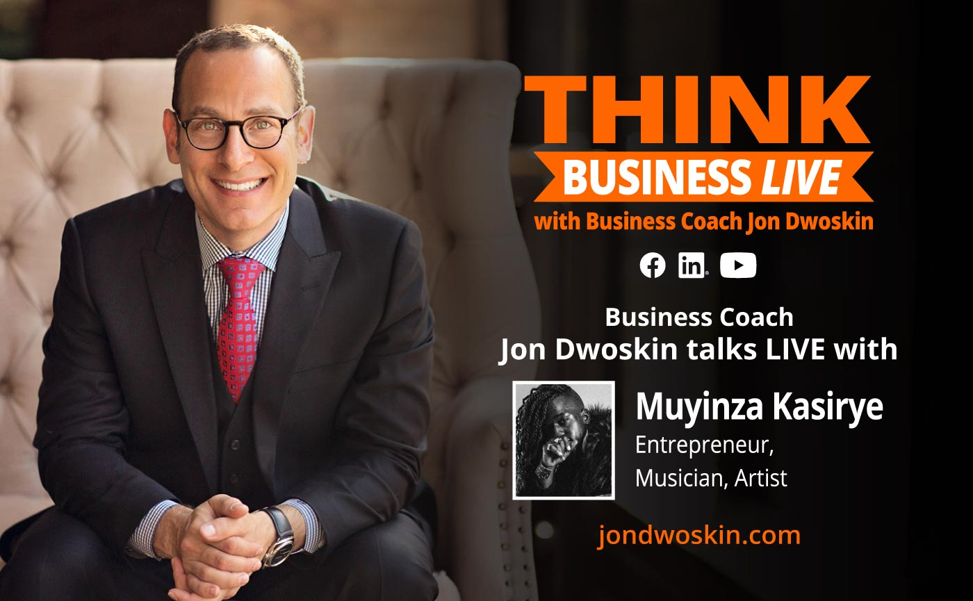THINK Business LIVE: Jon Dwoskin Talks with Muyinza Kasirye