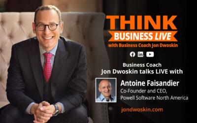 THINK Business LIVE: Jon Dwoskin Talks with Antoine Faisandier