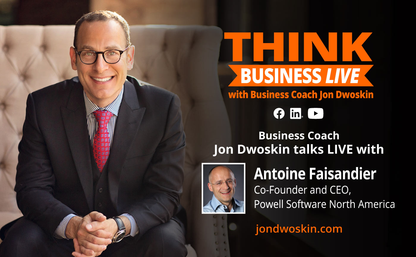 THINK Business LIVE: Jon Dwoskin Talks with Antoine Faisandier