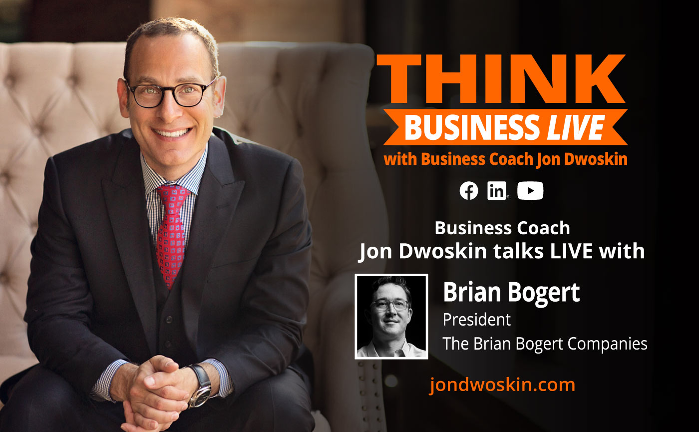 THINK Business LIVE: Jon Dwoskin Talks with Brian Bogert