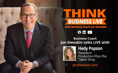 THINK Business LIVE: Jon Dwoskin Talks with Hedy Popson