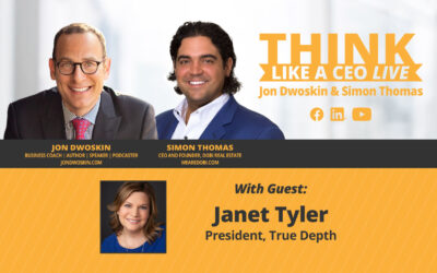 THINK Like a CEO LIVE: Jon Dwoskin and Simon Thomas Talk with Janet Tyler
