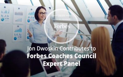 Jon Contributes to Forbes Coaches Council Expert Panel: Expert Tips For A Successful Pitch From 14 Executive Coaches