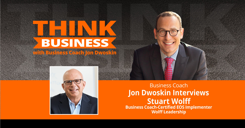 THINK Business Podcast: Jon Dwoskin Talks with Stuart Wolff