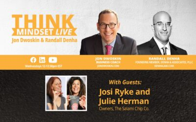 THINK Mindset LIVE: Jon Dwoskin and Randall Denha Talk with Josi Ryke and Julie Herman