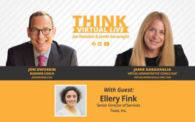 THINK Virtual LIVE: Jon Dwoskin and Jamie Garavaglia Talk with Ellery Fink