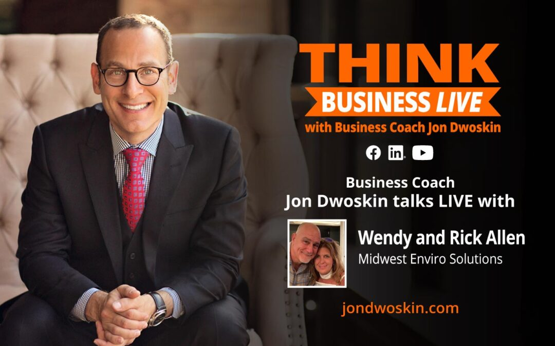 THINK Business LIVE: Jon Dwoskin Talks with Wendy and Rick Allen