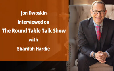 Jon Dwoskin Interviewed on The Round Table Talk Show with Sharifah Hardie