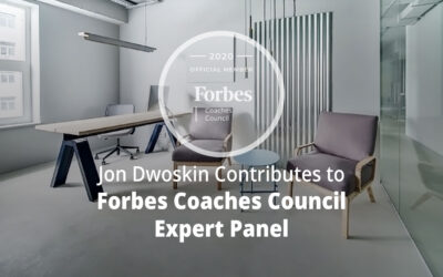 Jon Dwoskin Contributes to Forbes Coaches Council Expert Panel: 15 Ways To Convince Employees To Utilize An Open-Door Policy