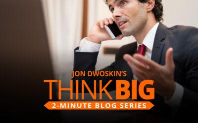 THINK Big 2-Minute Blog: Warm Up Those Cold Calls