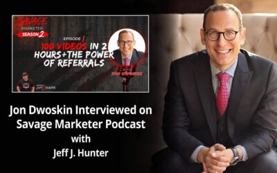 Jon Dwoskin Interviewed on Savage Marketer Podcast