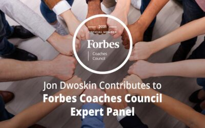 Jon Dwoskin Contributes to Forbes Coaches Council Expert Panel: 12 Strategies To Build Real Gender Equality Into A Company's DNA