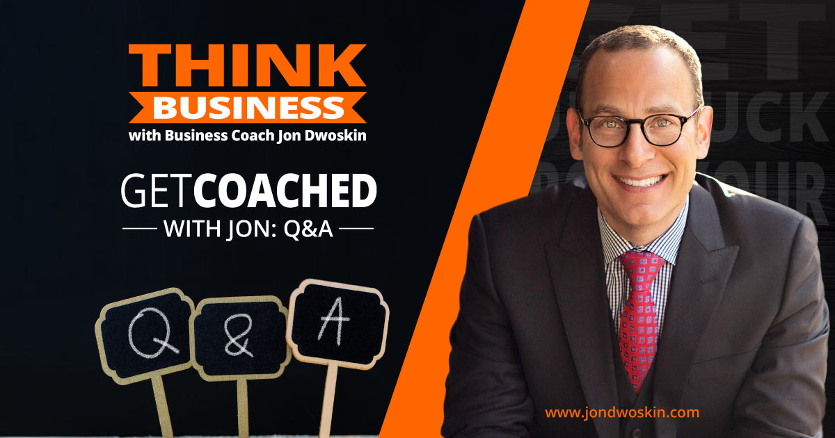 Get Coached with Jon: Q &A