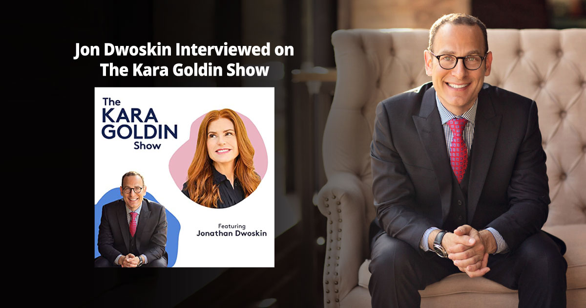 Jon Dwoskin Interviewed on The Kara Goldin Show
