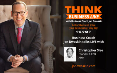 THINK Business LIVE: Jon Dwoskin Talks with Christopher Slee