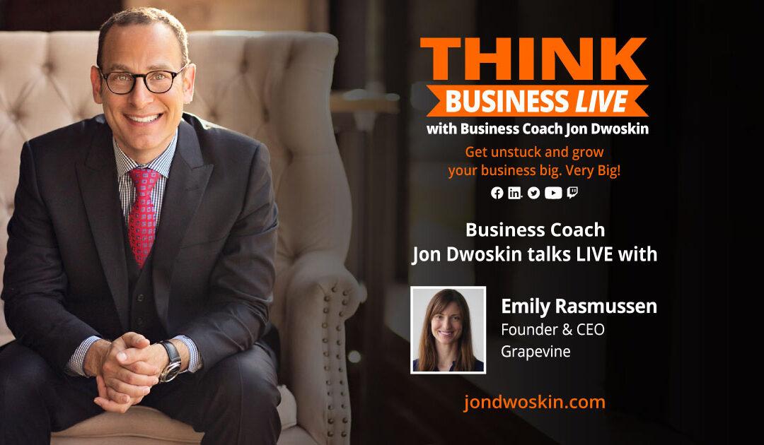 THINK Business LIVE: Jon Dwoskin Talks with Emily Rasmussen
