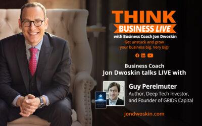 THINK Business LIVE: Jon Dwoskin Talks with Guy Perelmuter