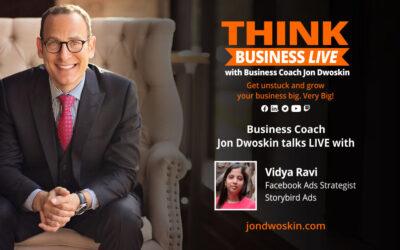 THINK Business LIVE: Jon Dwoskin Talks with Vidya Ravi