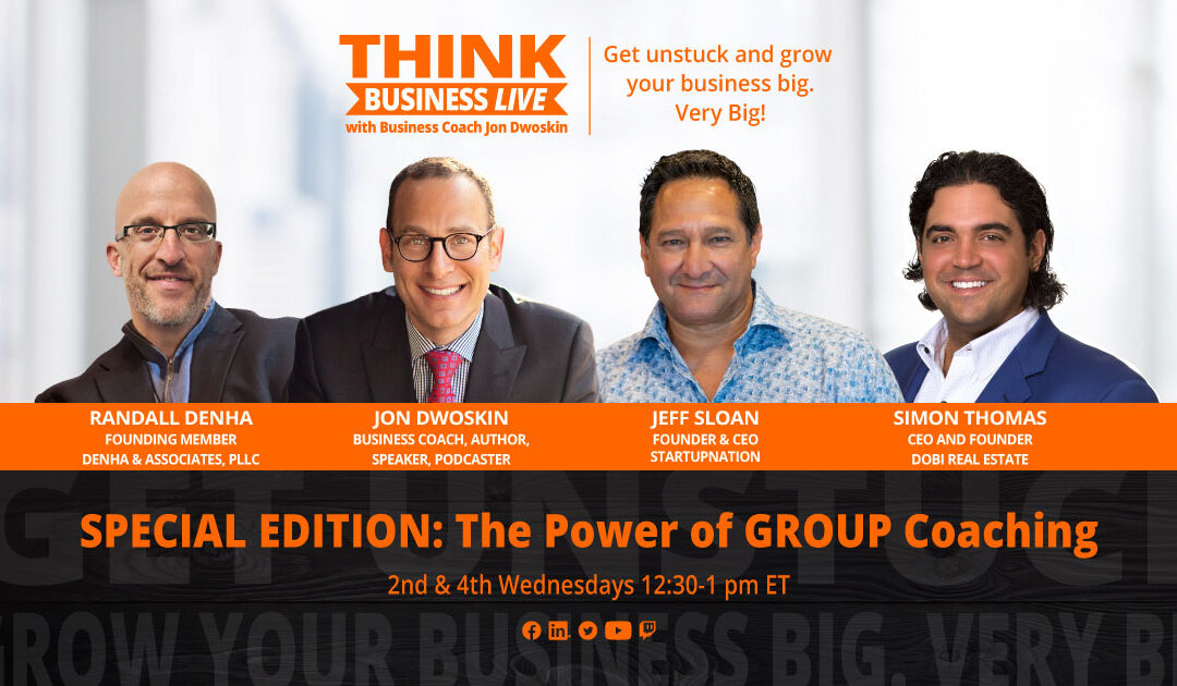 THINK Business LIVE Special Edition Series: The Power of Group Coaching – Prospecting