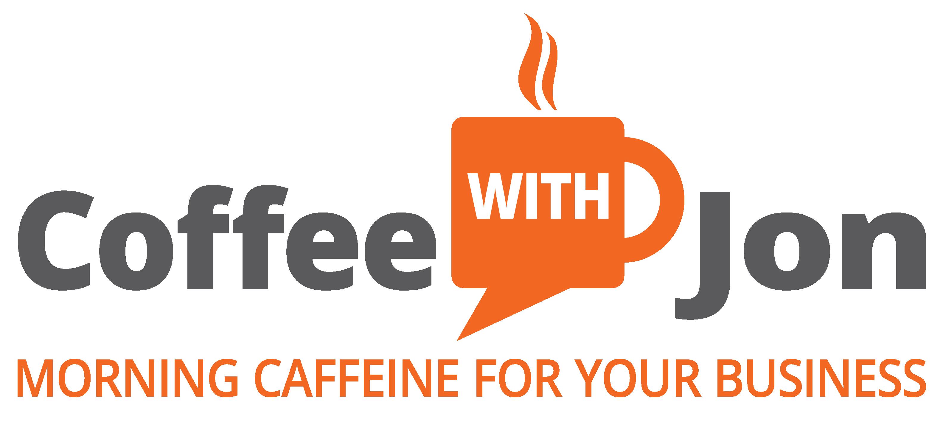 Coffee with Jon logo