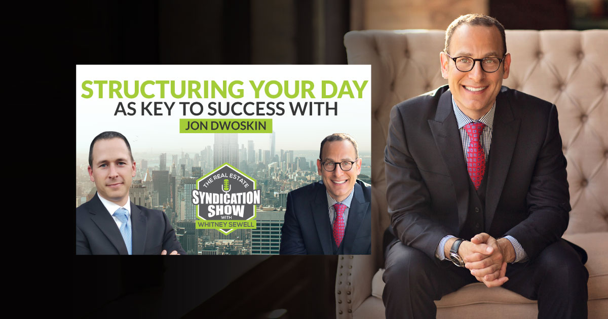 Jon Dwoskin Interviewed on The Real Estate Syndication Show