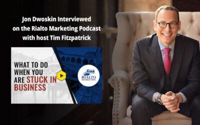 Jon Dwoskin Interviewed on the Rialto Marketing Podcast