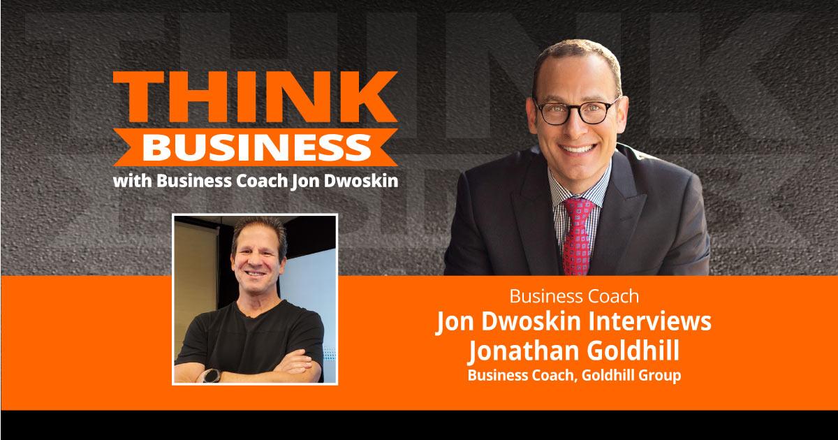 THINK Business Podcast: Jon Dwoskin Talks with Jonathan Goldhill