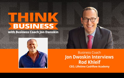 THINK Business Podcast: Jon Dwoskin Talks with Rod Khleif