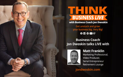 THINK Business LIVE: Jon Dwoskin Talks with Matt Franklin