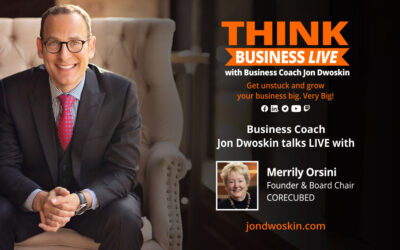 THINK Business LIVE: Jon Dwoskin Talks with Merrily Orsini