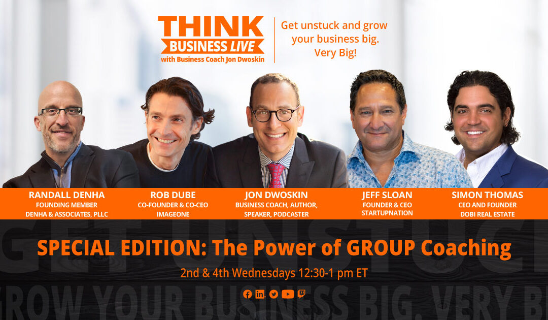 THINK Business LIVE Special Edition: The Power of Group Coaching – Growing Business Post-COVID
