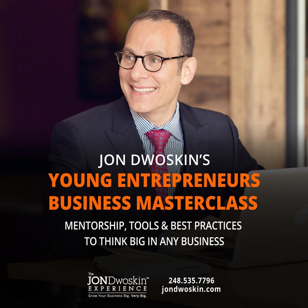 Jon Dwoskin's Young Entrepreneurs Business MasterClass