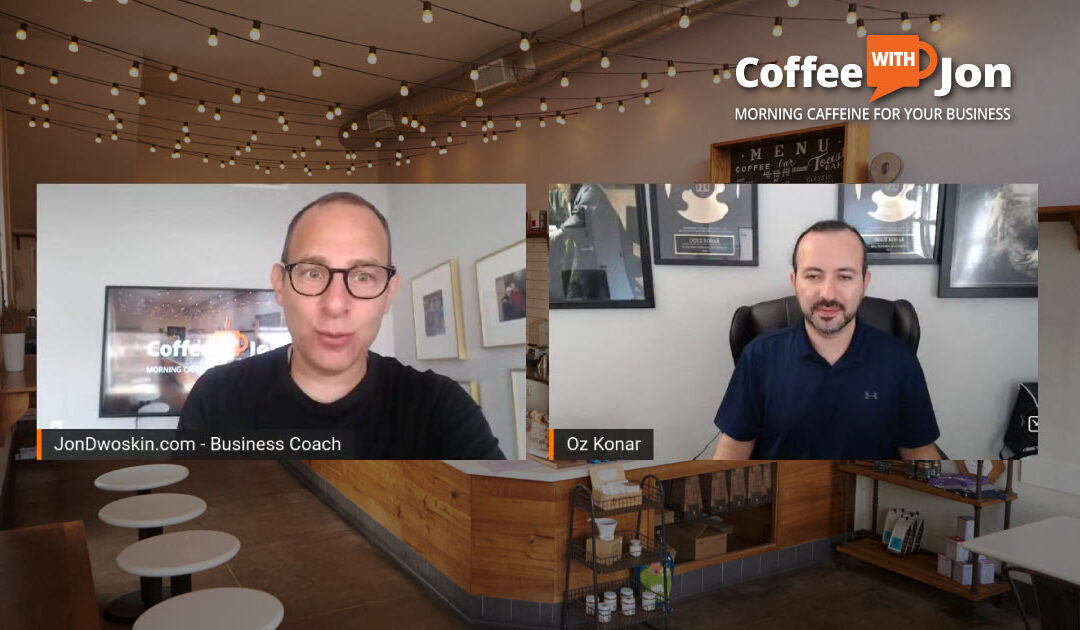 Coffee with Jon: Transitioning in Business