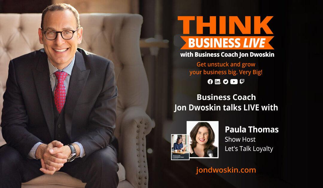 THINK Business LIVE: Jon Dwoskin Talks with Paula Thomas