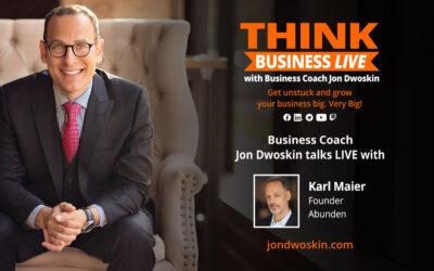 THINK Business LIVE: Jon Dwoskin Talks with Karl Maier