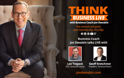 THINK Business LIVE: Jon Dwoskin Talks with Lee Trepeck and Geoff Kretchmer