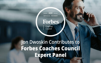 Jon Dwoskin Contributes to Forbes Coaches Council Expert Panel: 14 Smart Ways To Tweak Your Sales Strategy And Improve Your Business
