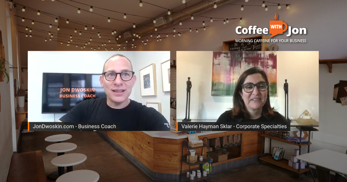 Coffee with Jon: The Power of Brainstorming and Promotional Products