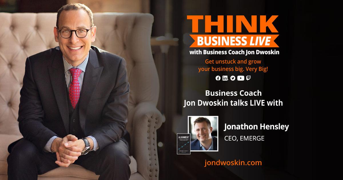 THINK Business LIVE: Jon Dwoskin Talks with Jonathon Hensley