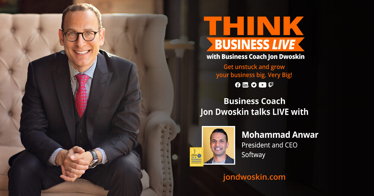 THINK Business LIVE: Jon Dwoskin Talks with Mohammad Anwar
